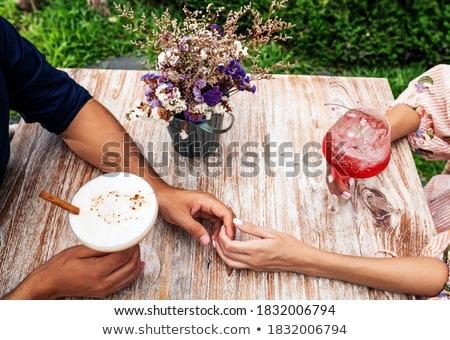 regenboog · cocktail · geïsoleerd · witte · partij · glas - stockfoto © milsiart