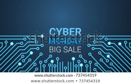 Grande venda cartaz circuito especial desconto Foto stock © kyryloff