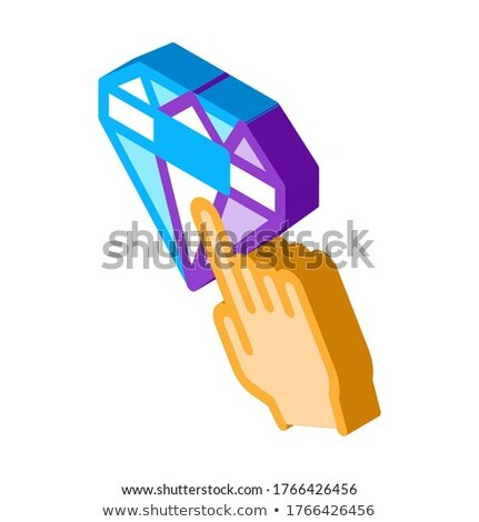 Bonus Target Sign isometric icon vector illustration Stock photo © pikepicture