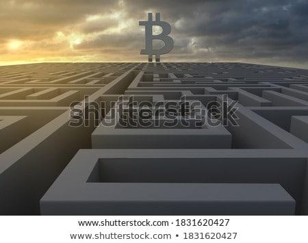 Ponury waluta ceny biały działalności podpisania Zdjęcia stock © pkdinkar