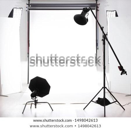 Empty photographic studio Stock photo © zzve