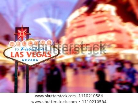 Wheel Of Fortune At A Casino Las Vegas Nevada Usa Stok fotoğraf © vichie81