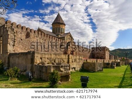 cathédrale · Géorgie · orientale · orthodoxe · Voyage · Europe - photo stock © joyr