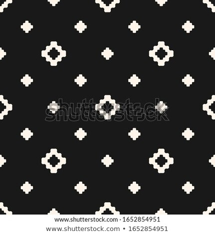 Geometric abstract square shape out of dots and one star. Be or think different concept. Colorful ci Stock photo © kyryloff