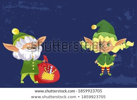 Warm wensen vakantie groet christmas gelukkig Stockfoto © robuart