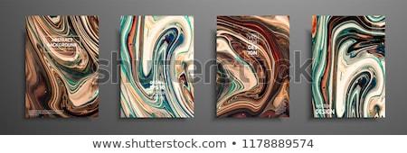 Vector banner abstract vloeibare moderne Stockfoto © ussr