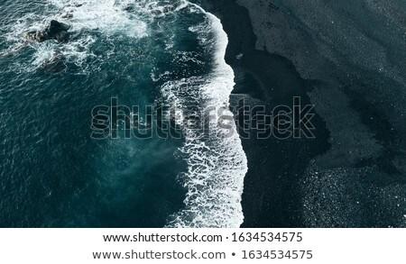 volkanik · taş · oluşum · mavi · gökyüzü · manzara · sokak - stok fotoğraf © meinzahn