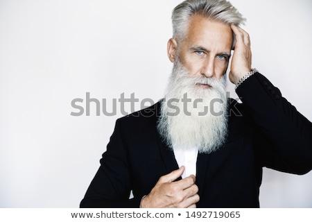 Attrattivo 50 anni vecchio casuale uomo ritratto Foto d'archivio © meinzahn