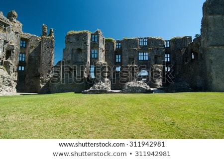 ruins of Roscommon Castle, County Roscommon, Ireland Stock photo © phbcz