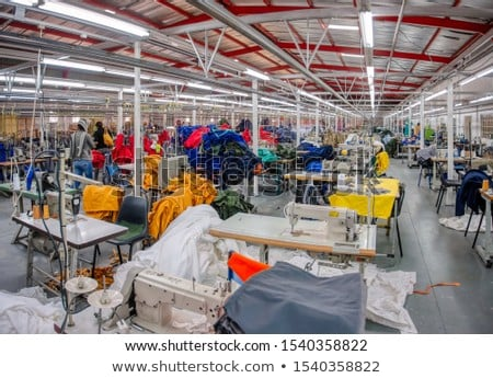 Stok fotoğraf: Tekstil · kumaş · fabrika · iş · moda · teknoloji