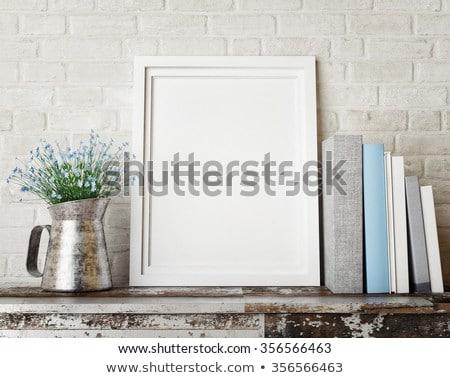 einfache · Vektor · Platz · dekorativ · Rahmen · Design - stock foto © marysan