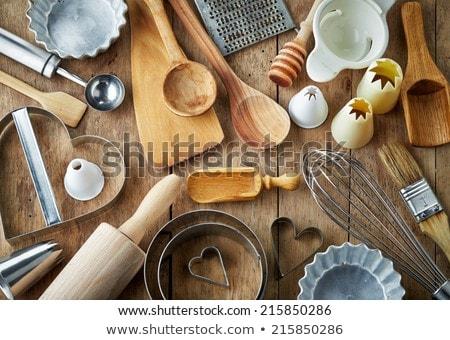 mutfak · doku · arka · plan · restoran · tablo - stok fotoğraf © karandaev