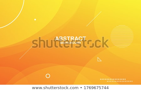 abstract fluid wave motion background in warm colors Stock photo © SArts