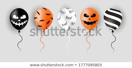 Glücklich Halloween Verkauf Banner scary Gesicht Stock foto © SArts