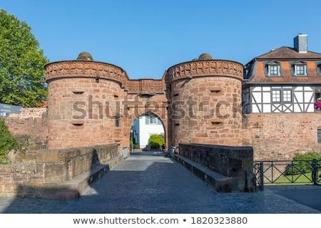 エルサレム ゲート ドイツ 壁 周りに 歴史的 ストックフォト © borisb17