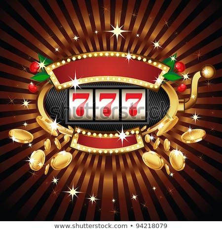 şanslı tekerlekler kumar oynama para Stok fotoğraf © robuart