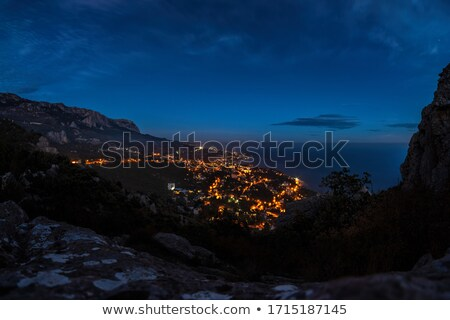 Aerial view of Crimea coastline near Yalta  Stock photo © dashapetrenko