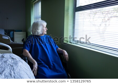 мнение старший кавказский женщины пациент Сток-фото © wavebreak_media