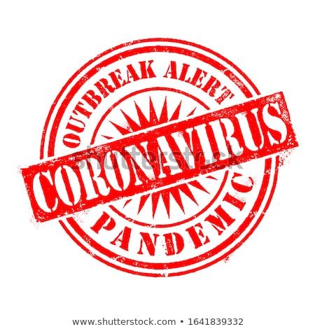 Novel Coronavirus Rubber Stamp Vector Stock photo © THP
