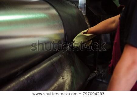Autó autógumik gyártás ipari űr üzlet Stock fotó © olira
