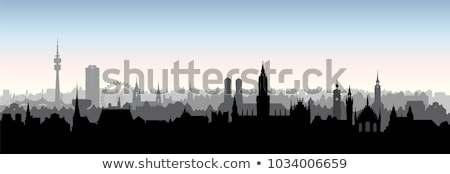 Munich Skyline stock photo © unkreatives
