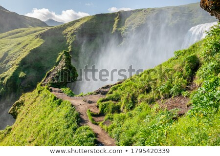 troll figure in iceland Stock photo © travelphotography
