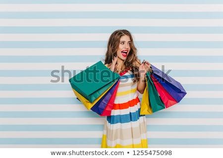 ストックフォト: 美 · ポーズ · 小さな · ゴージャス · 白人 · 女性