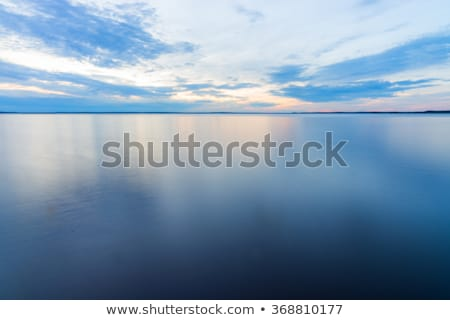 Calm ocean in the morning. Long exposure shot. Stock photo © moses