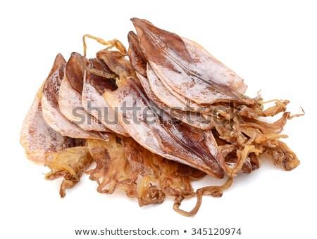 squid drying stock photo © smithore