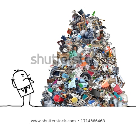 Stock photo: Too much pollution
