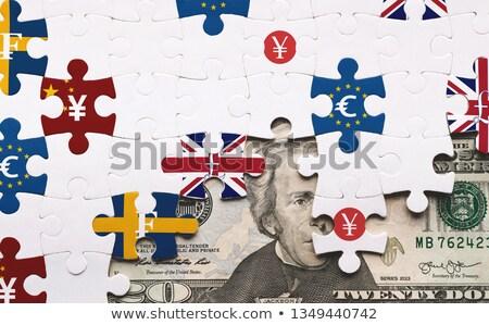 Dollar, Euro and Yuan Stock photo © bbbar