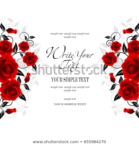 grunge background, natural red rose, copy space