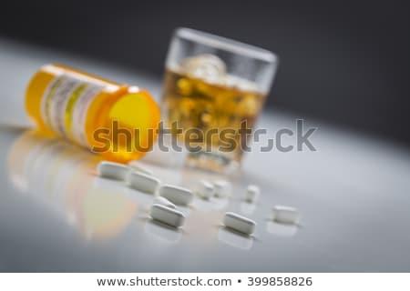 アルコール 錠剤 画像 リスク 青 ストックフォト © ruigsantos