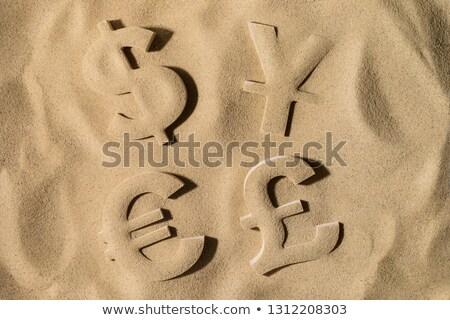 Crise financeira dólares euros yen mundial símbolos Foto stock © kbfmedia