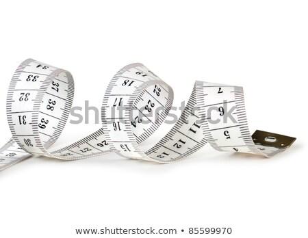 спиральных · рулетка · белый · лента · мера · диета - Сток-фото © calvste