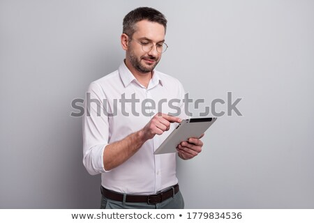 ebook book and spectacles stock photo © luapvision