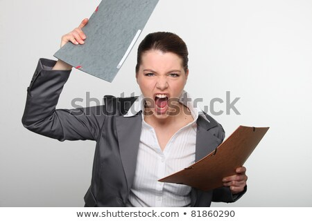 All this paperwork is driving me insane! Stock photo © photography33