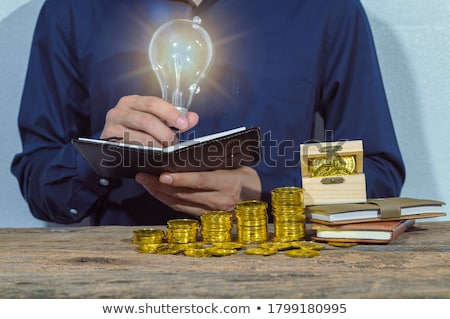 Businessman coming up with ideas Stock photo © photography33