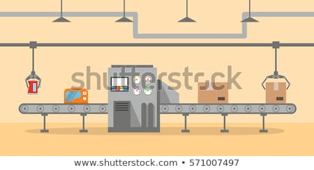Foto stock: Conveyor Belt