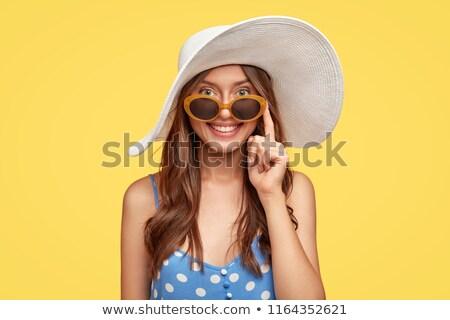 Fiatal nők tengerpart stúdiófelvétel víz nők tenger Stock fotó © photography33