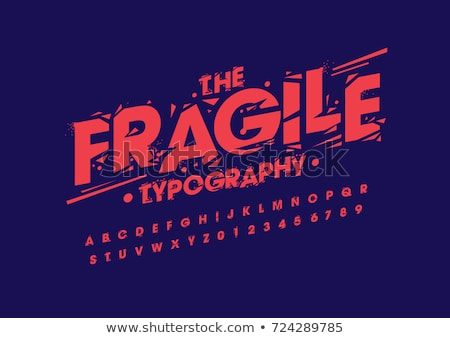 elegante · grunge · ilustración · carácter · estilo · manos - foto stock © igorij