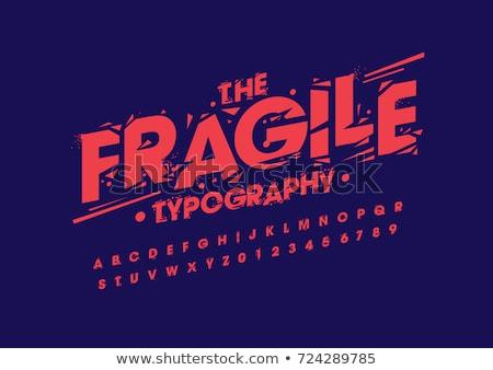 Гранж иллюстрация характер стиль рук Сток-фото © igorij