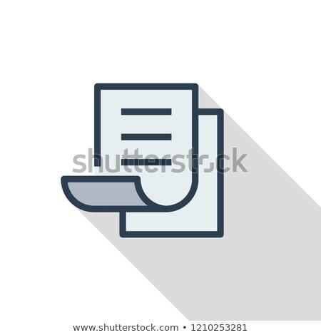 フォルダ 文字 白 孤立した 3D ストックフォト © sscreations