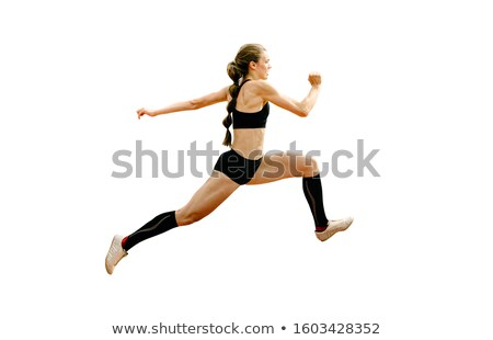 athlete triple jumper stock photo © sahua