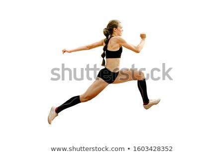 athlete triple jumper stock photo © sahua