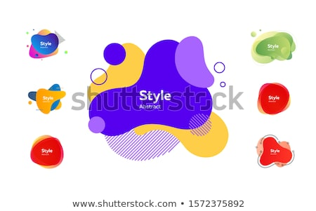Set Banners With Blob Stock photo © barbaliss