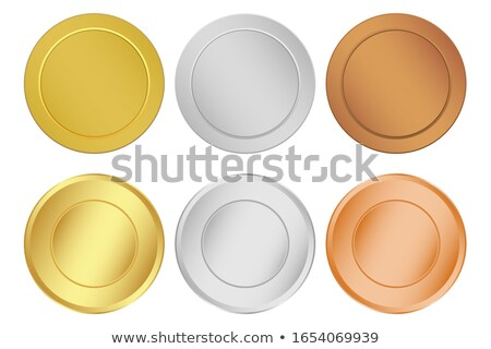 many gold silver and bronze medals stock photo © papa1266