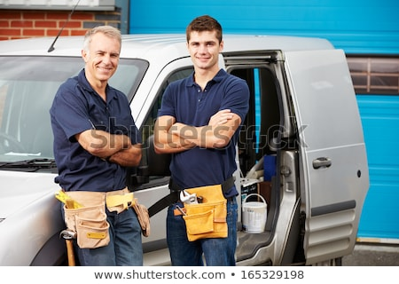 Two male plumber working together Stock photo © photography33