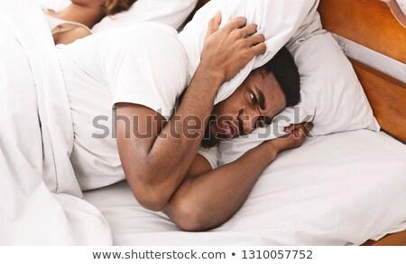 夫 妻 寝 愛 髪 カップル ストックフォト © photography33