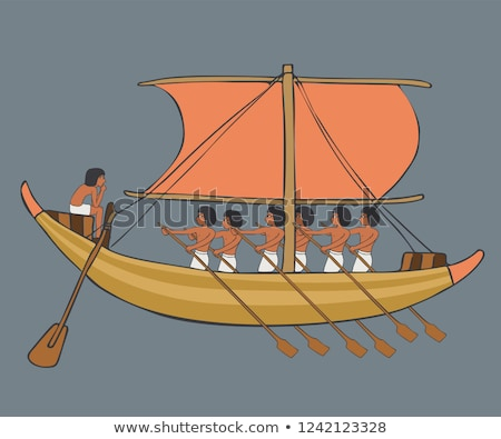 sailing boats in egypt stock photo © prill